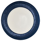Greengate Plate Alice Blue 26,5 CM Diner Plate Everyday Dishes Dark Blue