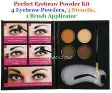 Beauty Treats Eyebrow Kit : 4 Eyebrow Powders, 3 Stencils, 1 Brush Applicator