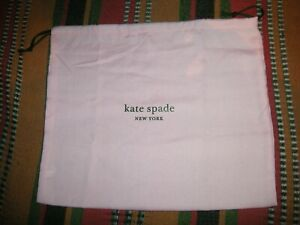 Kate Spade Auth Dust Protect Bags for Handbag Pink Different Sizes NEW