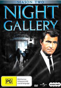 Night Gallery Season Two - DVD Series Rare Aus Stock New Region 4