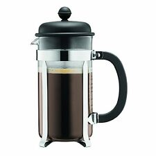 Bodum Cafetiere French Press Coffee Tea Maker 8 Cup, 1.0L, Black
