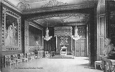 BR58830 the throne room   windsor castle postcard   uk