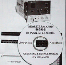 HP 86290B RF Plug-in Operating and Service Manual