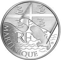 FRANCIA SERIE de las 27 monedas 10 euros REGIONES 2010, 50 000 EJEMPLARES