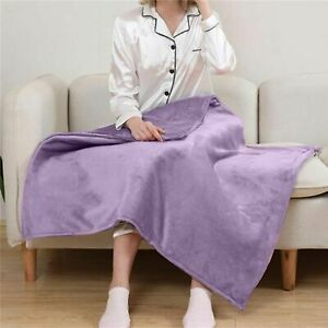Electric Throw Blanket Full Body Warming Heating Multifunctional Double Layer