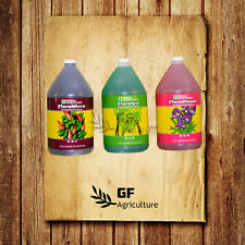 General Hydroponics Flora Series Gro Micro Bloom 1 Gallon gal gh grow nutrient