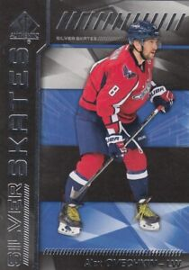 ALEX OVECHKIN NO:SS-AO SILVER SKATES in SP AUTHENTIC  2016-17   near mint     a
