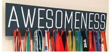AWESOMENESS - Runner/Sports Medal Hanger/Holder Display
