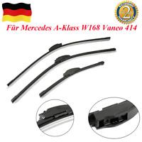 Hinten Scheibenwischer+Vorne Wischerblätter Für Mercedes A-Klass W168 Vaneo 414