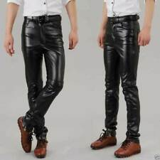 Pant Men's Leather Slim Fitting Pant Genuine Soft Lambskin Gents Pant's Swagger