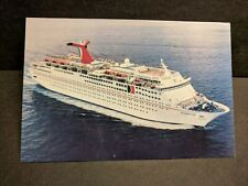 CARNIVAL Cruise Lines Ship CELEBRATION Naval Cover unused post card