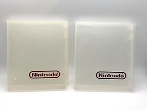Nintendo NES Clear Clamshell Dust Protector Cartridge Case Sleeve Cover Display