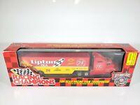 1996 Racing Champions NASCAR Team Transporter 1/64 Semi Truck -Lipton Tea