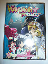 Kirameki Project Volume 2 Metal Hearts DVD anime OVA mecha ecchi Robot Girls NEW