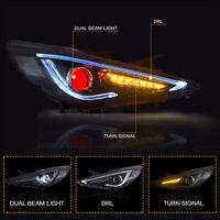 VLAND Modded LED W/ DemonEye Headlight for Sonata 11-14 GLS Limited SE 11-13 GL