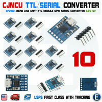 10PCS CJMCU CP2102 USB To TTL/Serial Module Programmer UART Downloader Arduino