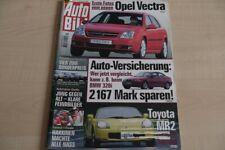 1) Auto Bild 44/1999 - Hyundai Accent 1.3i mit 75P - Toyota MR 2 mit 140PS im er