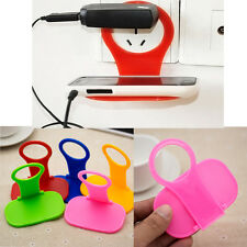 Portable Linked Wall Charging Rack Holder Hanger For Cell Phone Charger Kang