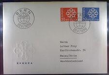 Switzerland 1959 FDC 679-80a Union Europa Cept