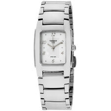 Tissot T-Trend Silver Dial Stainless Steel Ladies Watch 0733101111600