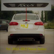 Ford Focus Limo MK 3 2012 - 2017 Carbon Style Aufkleber 3. Bremsleuchte