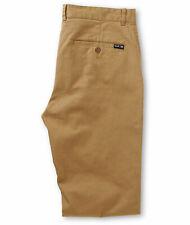Huf Worldwide Footwear Skate Shoes Chino Pants Pants Trousers Fulton Khaki in 28