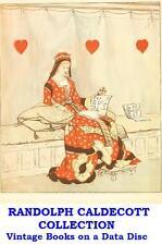 Randolph Caldecott Collection Vintage Illustrated Children's Books on Data Disc