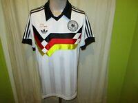 """Deutschland """"DFB"""" Adidas Retro Weltmeisterschaft Sieger Trikot 1990 Gr.M TOP"""