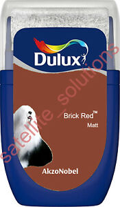 * Dulux Interior Paint 30ml Matt Tester Pots with Roller ~ Brand New & Sealed *