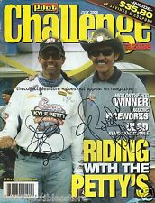 RICHARD KYLE PETTY AUTOGRAPHED SIGNED PILOT CHALLENGE NASCAR RACING MAGAZINE