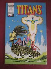 TITANS N° 148 MAI 1991   LUG X MEN SPIDERMAN STAN LEE MARVEL COMME NEUF