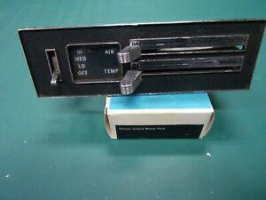 1966-67 PONTIAC LEMANS,GTO,TEMPEST ORIGINAL NON AC HEATER CONTROL
