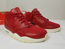 Nike Air Entertainer Men Sz 11 New Gym Red Sail Soles 819854 600 Sneaker Trainer