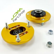 Camber Plates Mounts BMW E46 Pillow Adjustable 318 325i 325is M3 For Coilover