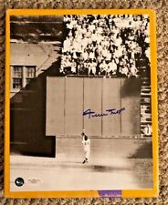 WILLIE MAYS AUTOGRAPHED 8 X 10 THE CATCH PHOTO JSA CERTIFIED