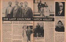 Solomon Hotema Snake Indian Preacher Ok-la-han-nali-Choctaw Witch Killer