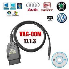 VAG COM 17.1 VAGCOM 17.1.3 VAG HEX + CAN Cable Diagnóstico Automático Carro OBD2