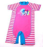 DISNEY Kinder Badeanzug Gr 86 UV-Schutz Minnie Mouse Baby Strand Surf Shorty
