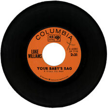 """LUKE WILLIAMS  """"YOUR BABY'S BAG c/w WHO'S GONNA BE FIRST""""  NORTHERN SOUL LISTEN!"""