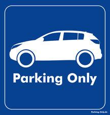 Parking Only - Kia Sportage - Aufkleber