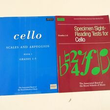 cello SPECIMEN SIGHT READING TESTS Grades 1-5 + SCALES ARPEGGIOS , abrsm