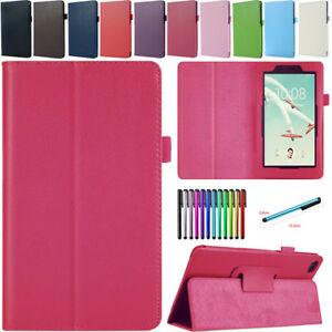 For Lenovo Tab E7 TB-7104F /E8 TB-8304F1 Tablet PU Leather Cover Case Stand+Gift