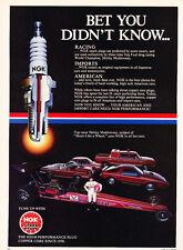 1984 Dodge 400 Daytona Colt Ram NGK -  Original Car Advertisement Print Ad J283