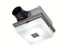 70 CFM Bathroom Ceiling Exhaust Fan Modern Contemporary Elegant Globe Light