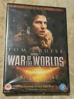 War Of The Worlds (DVD, 2013) Tom Cruise **BRAND NEW & SEALED**