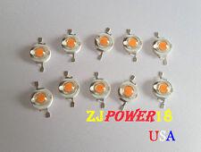 10 Pcs 3 Watt Full Spectrum Led Chip 400nm840nm Plant Grow Lights