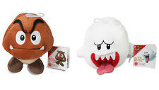 Set of 2 - Sanei Super Mario All Star Stuffed Plush Doll - Goomba & Ghost Boo