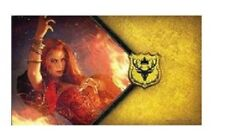 Fantasy Flight Games A Game of Thrones The Red Woman Melisandre CCG Playmat