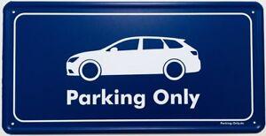 Parking Only - Seat Leon 3 5F ST - Aluminiumschild