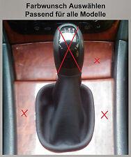 Mercedes C-Klasse W203 Echtleder Schaltsack Schaltmanschette für Schaltknauf